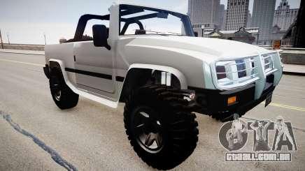 Patriot Jeep para GTA 4