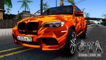 BMW X5M E70 para GTA San Andreas