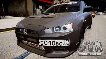 Mitsubishi Lancer Evolution X v1.0 para GTA 4