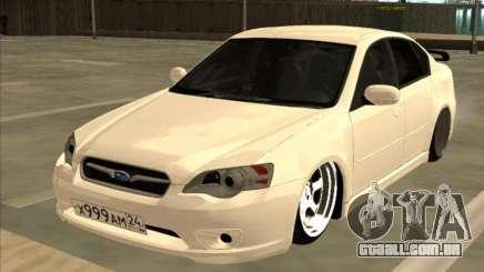 Subaru Legacy branco para GTA San Andreas
