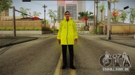 PES2016 - NPC Security v2 para GTA San Andreas