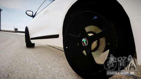 Volkswagen Scirocco Mk.III '08 Tune Final para GTA 4 vista de volta
