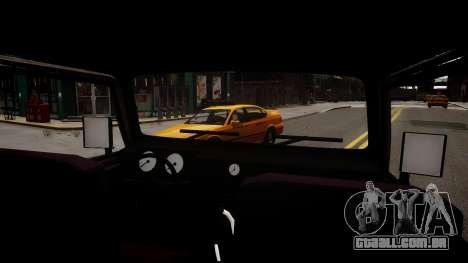Suzuki Samurai v1.0 para GTA 4 vista interior