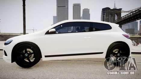 Volkswagen Scirocco Mk.III '08 Tune Final para GTA 4 traseira esquerda vista