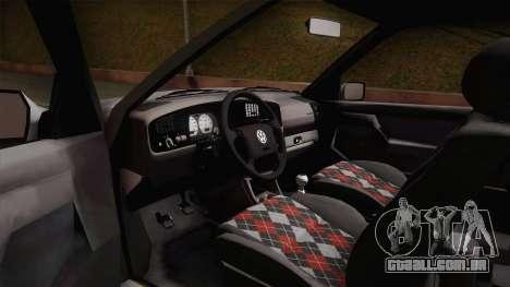 Volkswagen Golf Mk3 Stock para GTA San Andreas vista direita