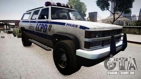 Declasse Police Ranger para GTA 4