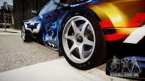 BMW M3 GT2 Ultimate Drift para GTA 4 vista de volta
