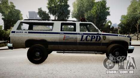 Declasse Police Ranger para GTA 4 esquerda vista