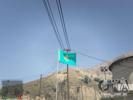 A Bandeira Do Cazaquistão para GTA 5