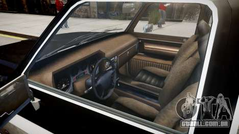 New Rancher para GTA 4 vista interior