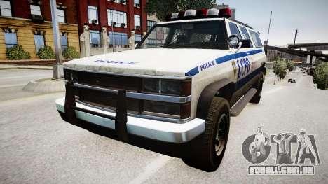 Declasse Police Ranger para GTA 4 vista direita