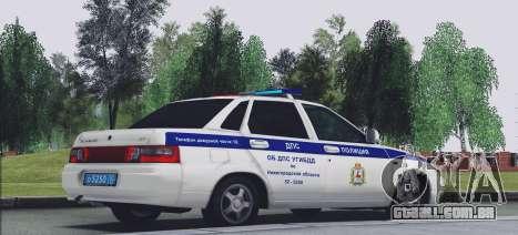 VAZ 2110 TRÁFEGO para GTA San Andreas