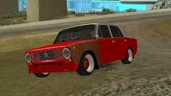 VAZ 2101 vermelho para GTA San Andreas