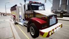 Novo caminhão de bombeiros T5