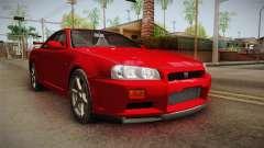 Nissan Skyline Tunable Pro Street v2 para GTA San Andreas