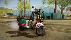 GTA 5 Pegassi Faggio Cool Tuning v5 para GTA San Andreas
