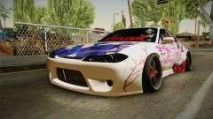Nissan Silvia S15 Rocket Bunny Itasha para GTA San Andreas
