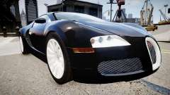 Bugatti Veyron 16.4 2009 v.2 para GTA 4