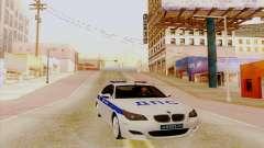 BMW M5 E60 branco para GTA San Andreas