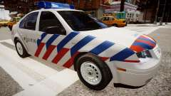 Volkswagen bora police para GTA 4