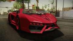 GTA 5 Pegassi Lampo Roadster