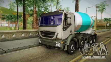 Iveco Trakker Hi-Land Cement Mixer 8x4 v3.0 para GTA San Andreas
