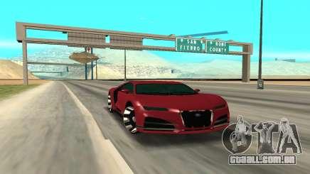 TRUFFADE NERO para GTA San Andreas