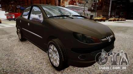 Peugeot 206 SD para GTA 4