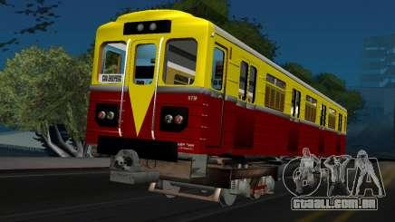 Vagão tipo de ECA 009 para GTA San Andreas