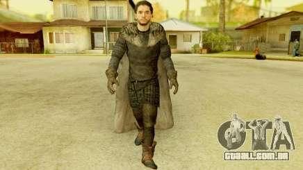 Game of Thrones - Jon Snow para GTA San Andreas
