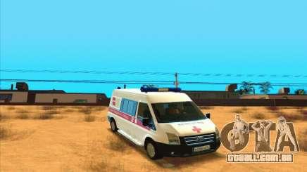 Ford Transit Ambulância para GTA San Andreas