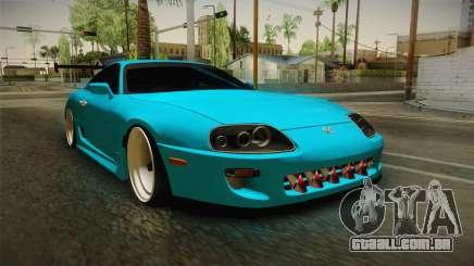 Toyota Supra Stance para GTA San Andreas