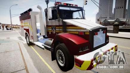 Novo caminhão de bombeiros T5 para GTA 4