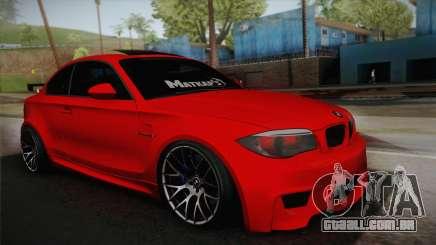 BMW M1 E82 para GTA San Andreas