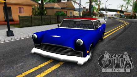 New car in style SA para GTA San Andreas