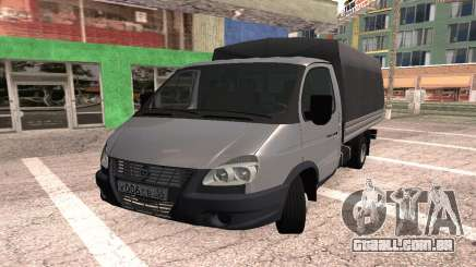 Gazela Turbo diesel para GTA San Andreas