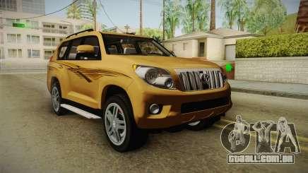 Toyota Land Cruiser Prado 2012 para GTA San Andreas