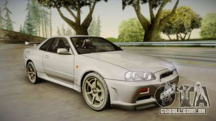 Nissan Skyline Tunable Pro Street para GTA San Andreas