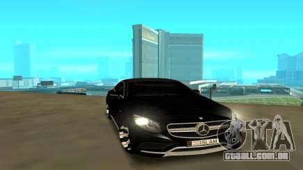 Mercedes-Benz C-Class Coupe 2016 para GTA San Andreas