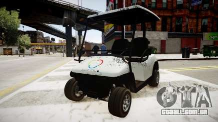 Golf Car - New Logo para GTA 4