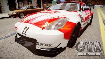 Nissan 350Z JGTC Motul Pitwork para GTA 4