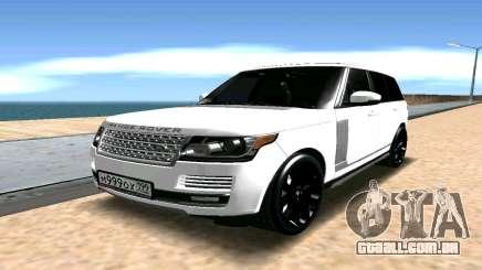 Range Rover para GTA San Andreas