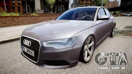 Audi A6 2012 Style para GTA 4