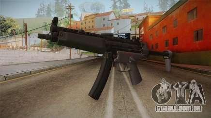 CoD 4: MW Remastered MP5 para GTA San Andreas