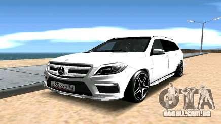 Mercedes-Benz GL63 AMG para GTA San Andreas