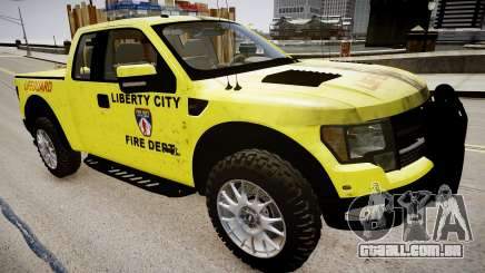 Ford Raptor SVT Department Lifeguard para GTA 4
