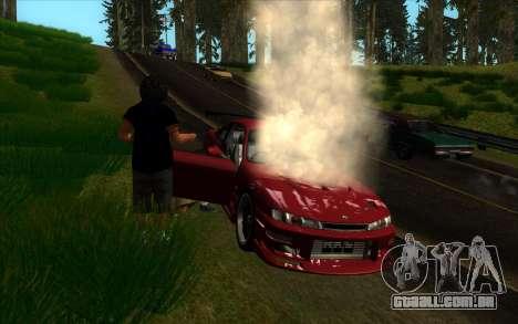 Road trip 2.0 para GTA San Andreas segunda tela