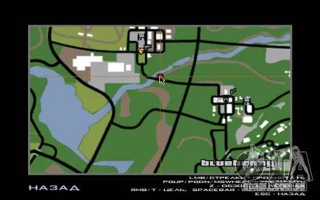 Road trip 2.0 para GTA San Andreas quinto tela