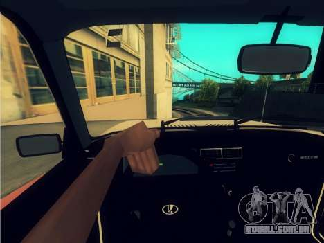 2107 para GTA San Andreas vista interior