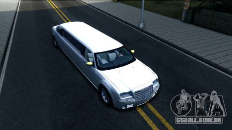 Chrysler 300C Limo 2007 IVF para GTA San Andreas vista direita
